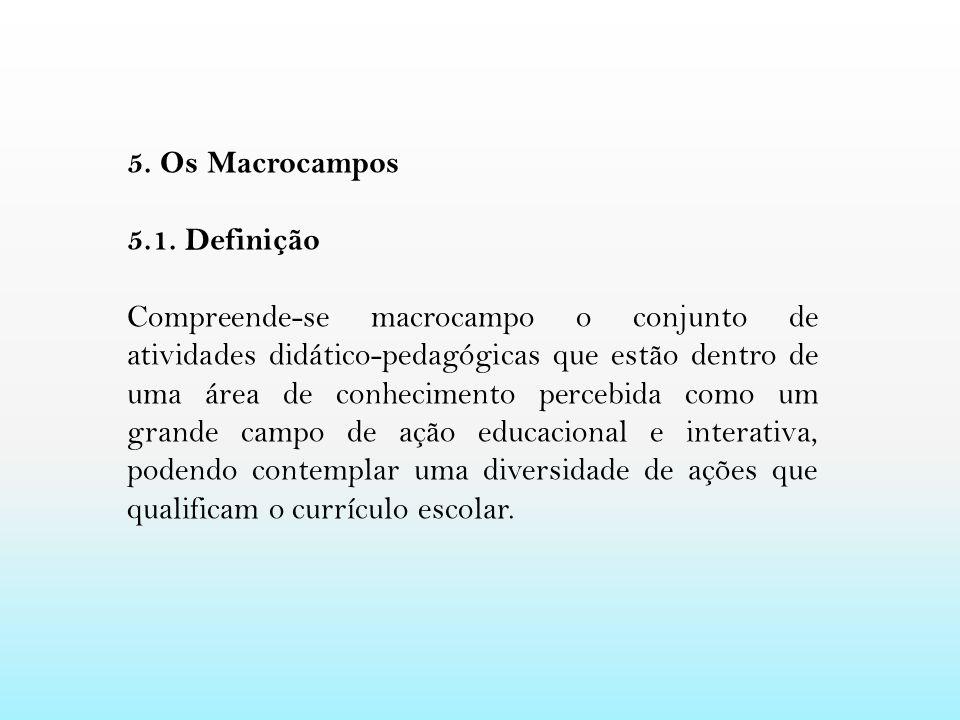 5. Os Macrocampos 5.1. Definição.