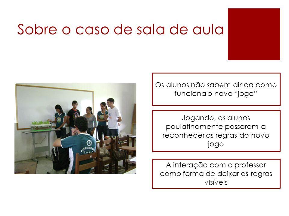 Sobre o caso de sala de aula