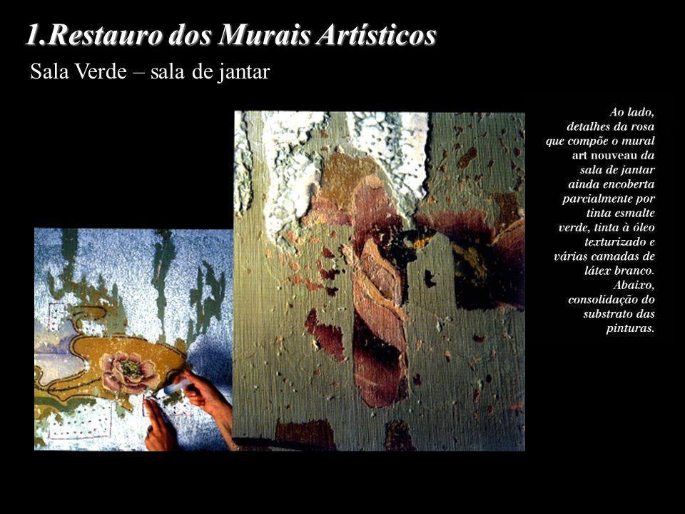 1.Restauro dos Murais Artísticos