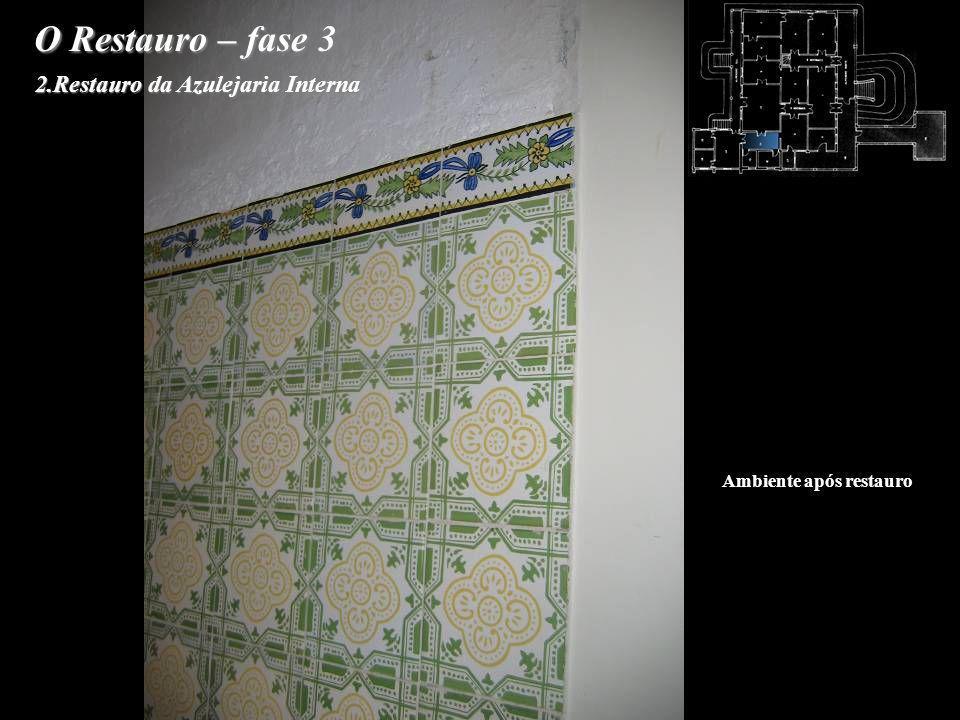2.Restauro da Azulejaria Interna