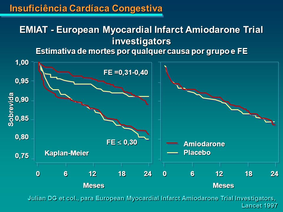 EMIAT - European Myocardial Infarct Amiodarone Trial investigators