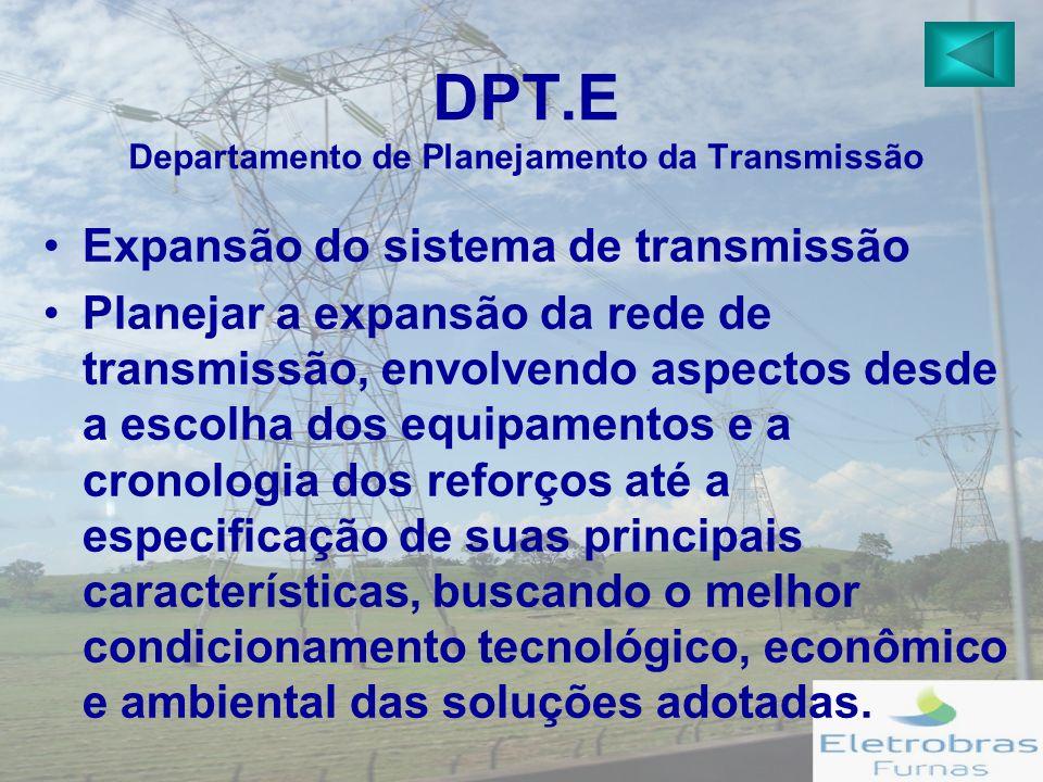 DPT.E Departamento de Planejamento da Transmissão