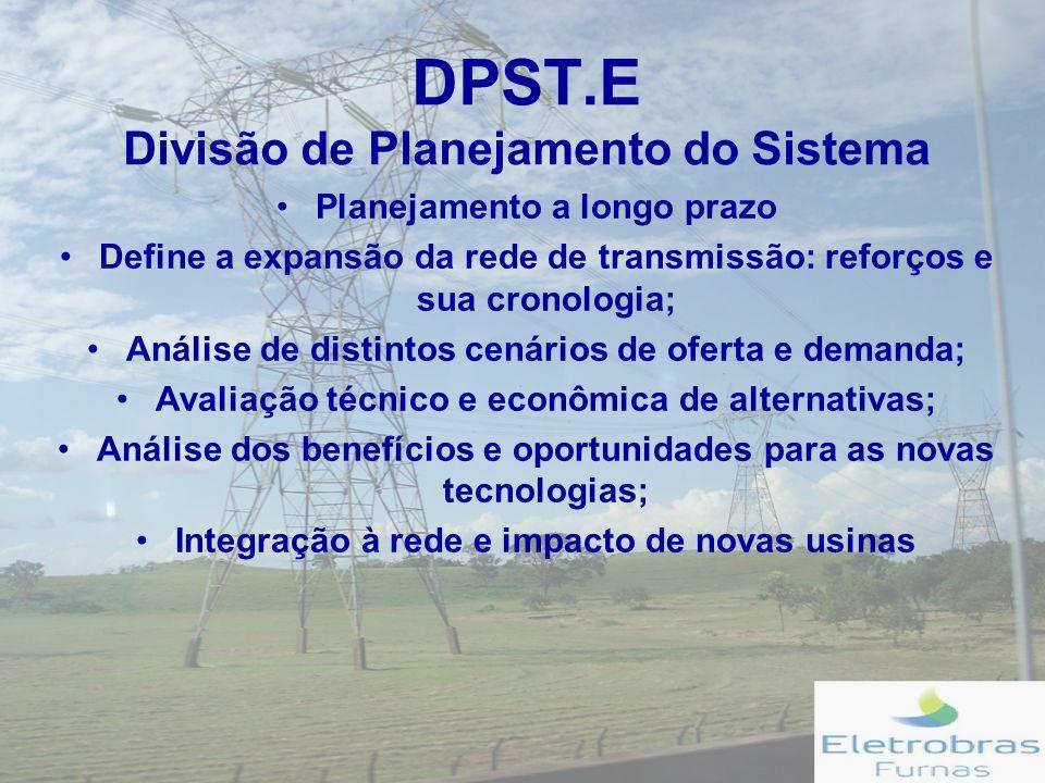 DPST.E Divisão de Planejamento do Sistema