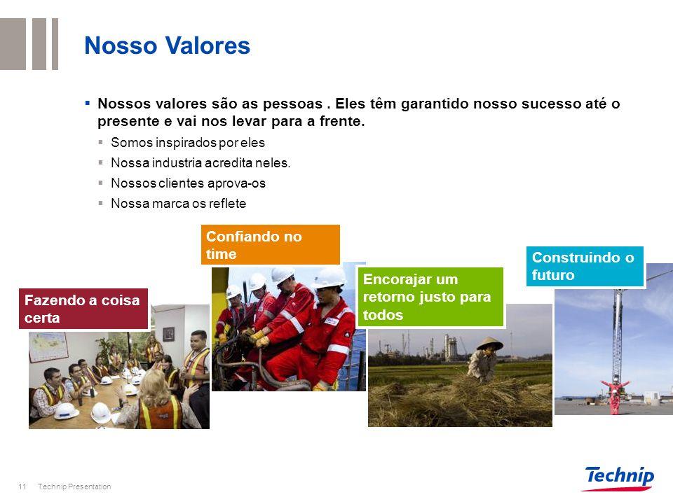 Nosso Valores Nossos valores são as pessoas . Eles têm garantido nosso sucesso até o presente e vai nos levar para a frente.