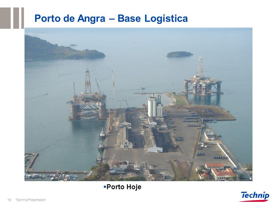Porto de Angra – Base Logística