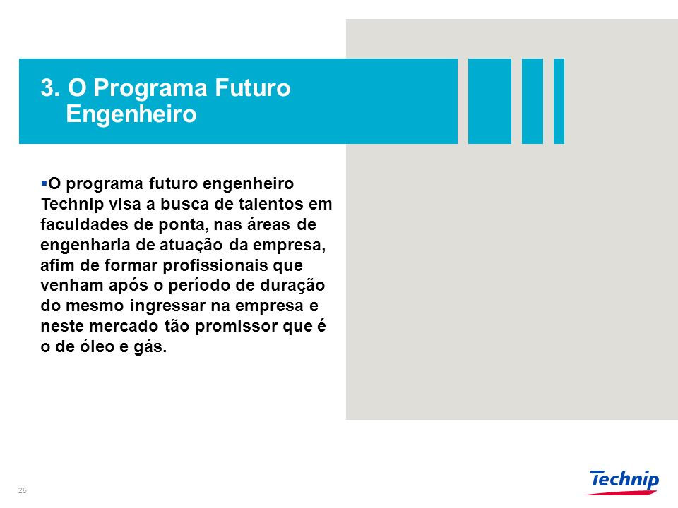 3. O Programa Futuro Engenheiro