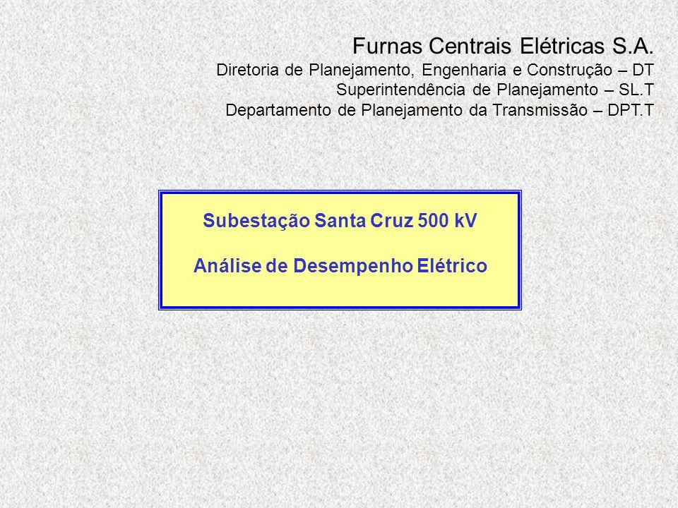 Subestação Santa Cruz 500 kV Análise de Desempenho Elétrico