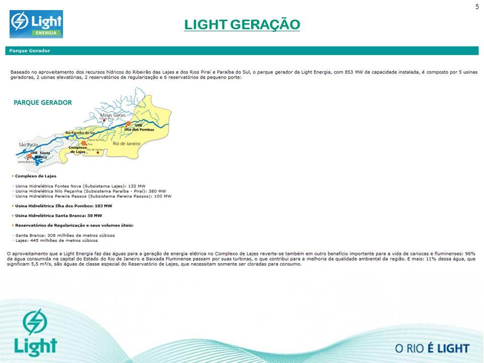LIGHT GERAÇÃO