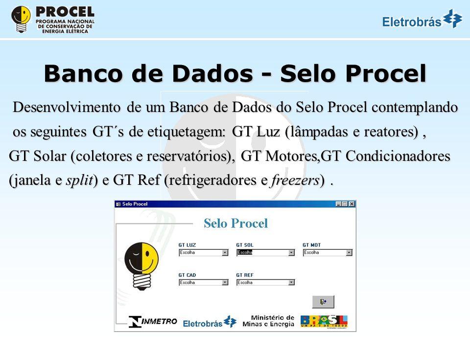 Banco de Dados - Selo Procel