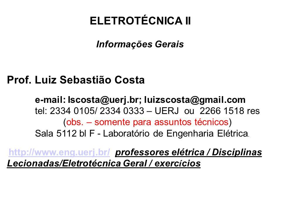 Prof. Luiz Sebastião Costa
