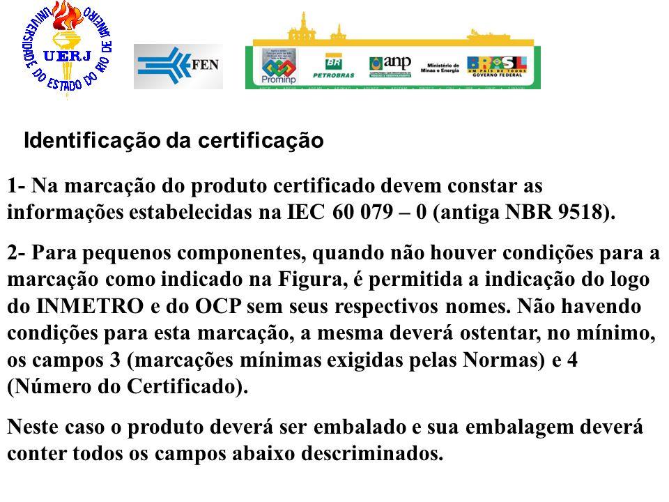 Identificação da certificação