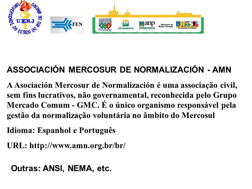ASSOCIACIÓN MERCOSUR DE NORMALIZACIÓN - AMN