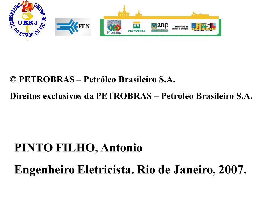 Engenheiro Eletricista. Rio de Janeiro, 2007.