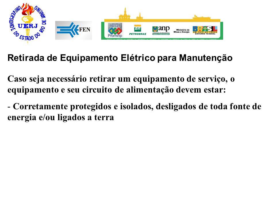 Retirada de Equipamento Elétrico para Manutenção