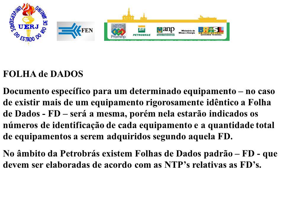 FOLHA de DADOS