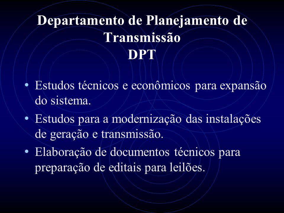 Departamento de Planejamento de Transmissão DPT