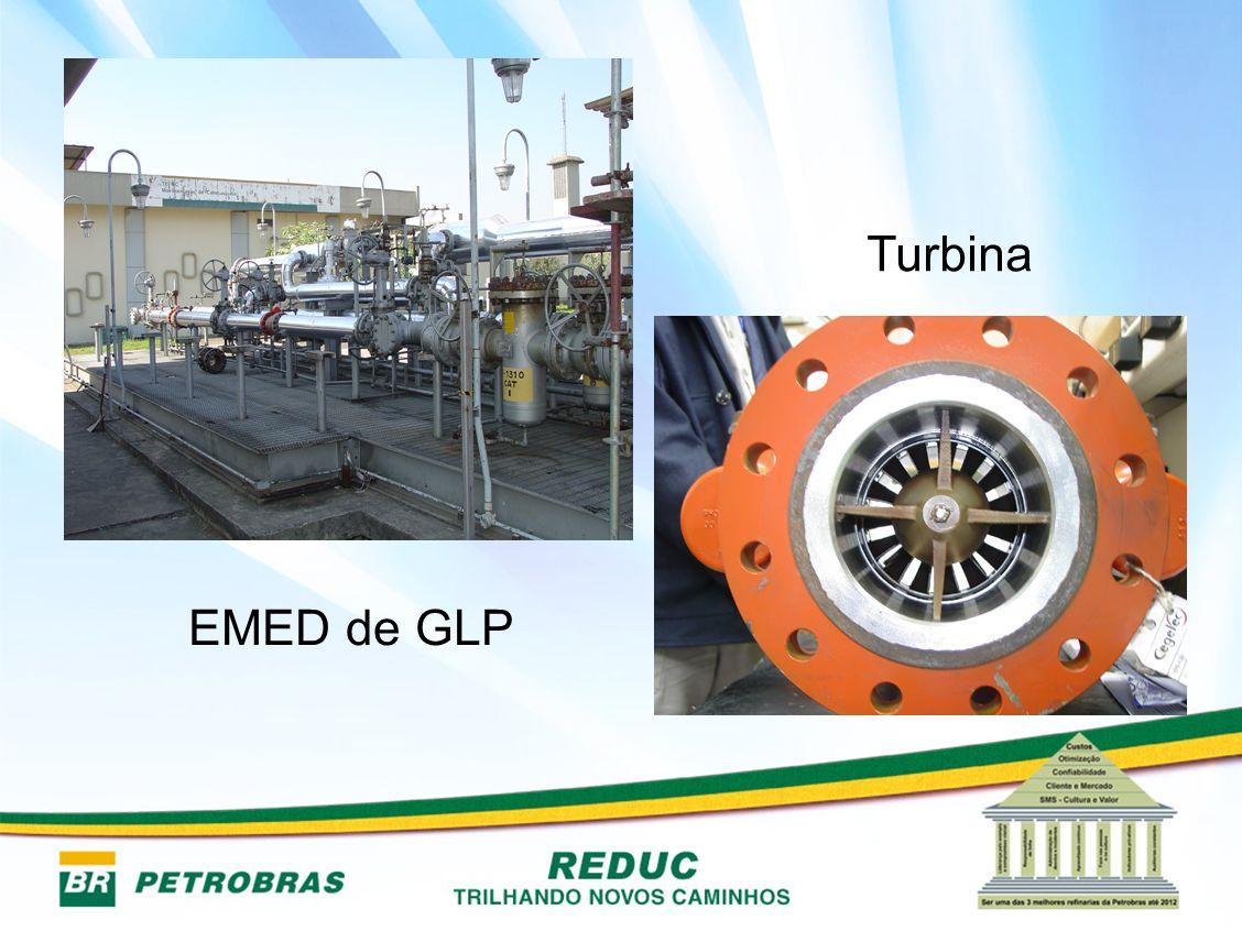 Turbina EMED de GLP