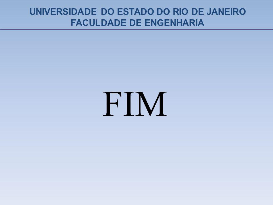 UNIVERSIDADE DO ESTADO DO RIO DE JANEIRO FACULDADE DE ENGENHARIA