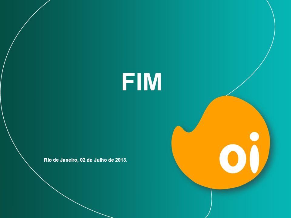 FIM Rio de Janeiro, 02 de Julho de 2013.