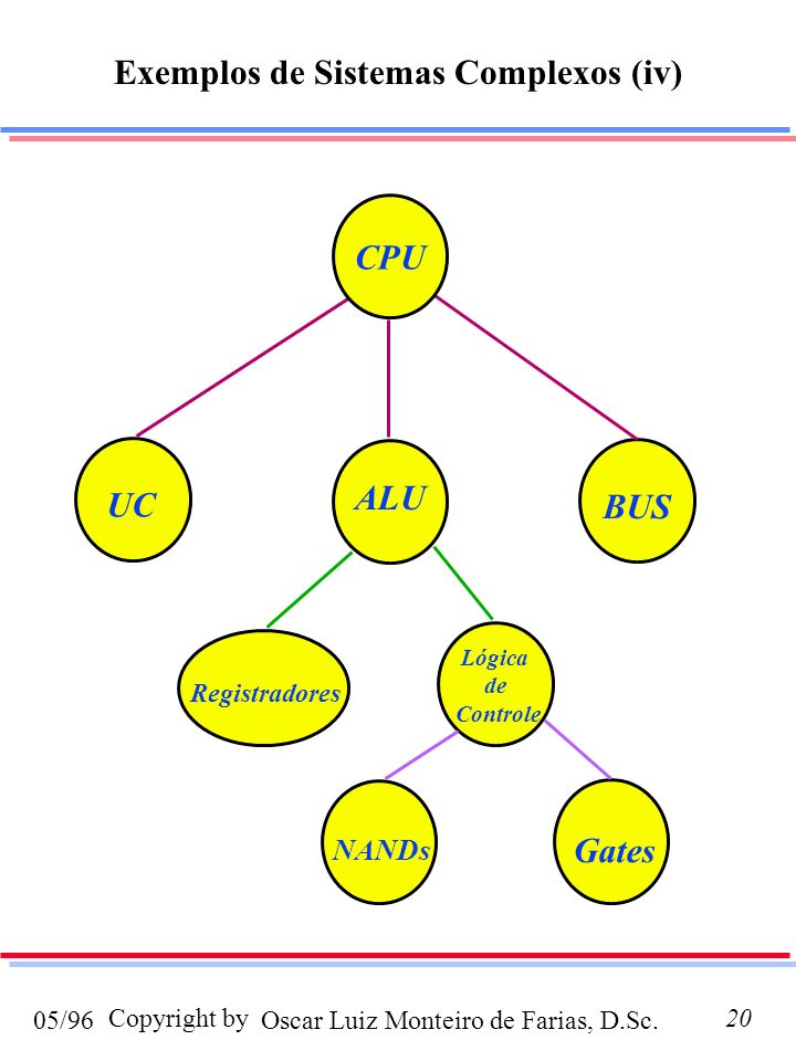 Exemplos de Sistemas Complexos (iv)
