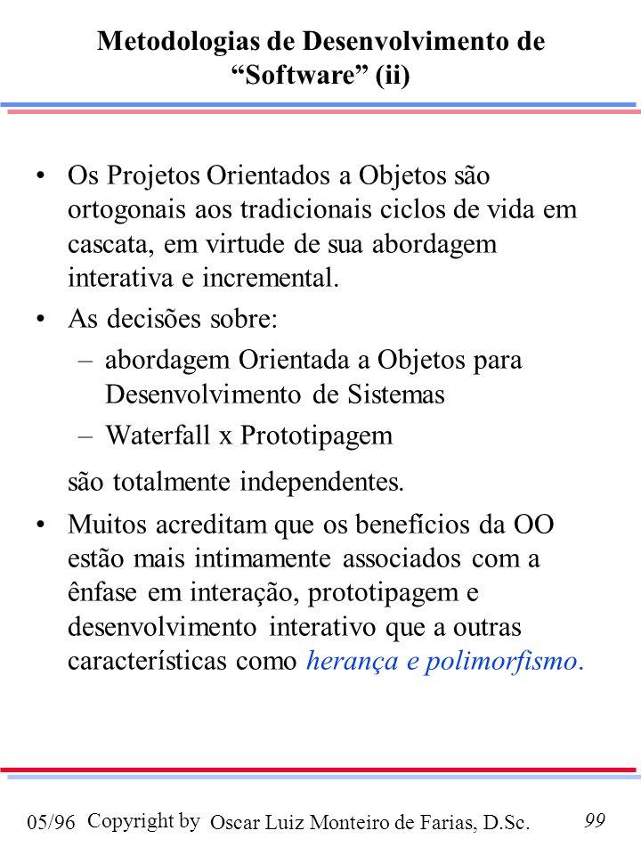 Metodologias de Desenvolvimento de Software (ii)