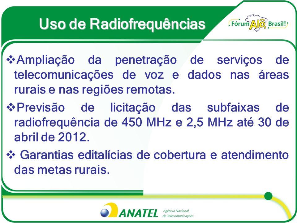 Uso de Radiofrequências