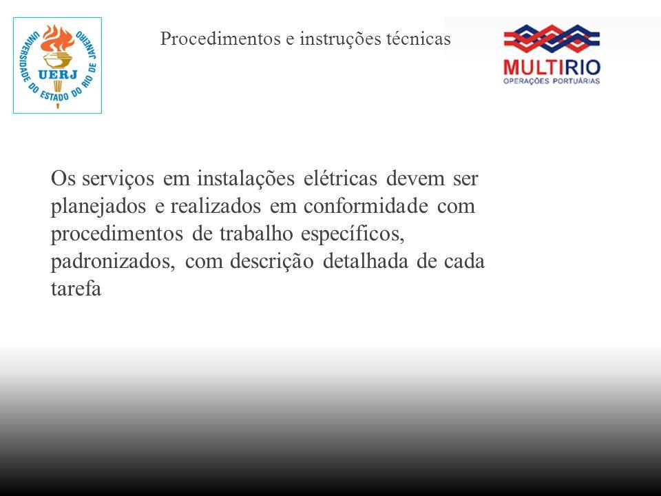 Procedimentos e instruções técnicas