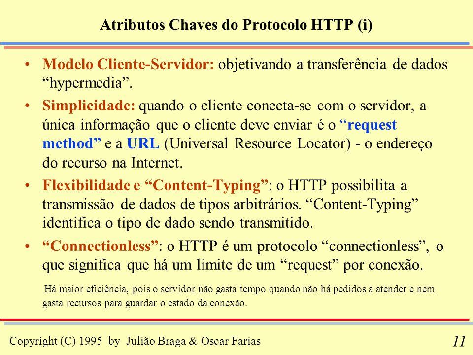 Atributos Chaves do Protocolo HTTP (i)