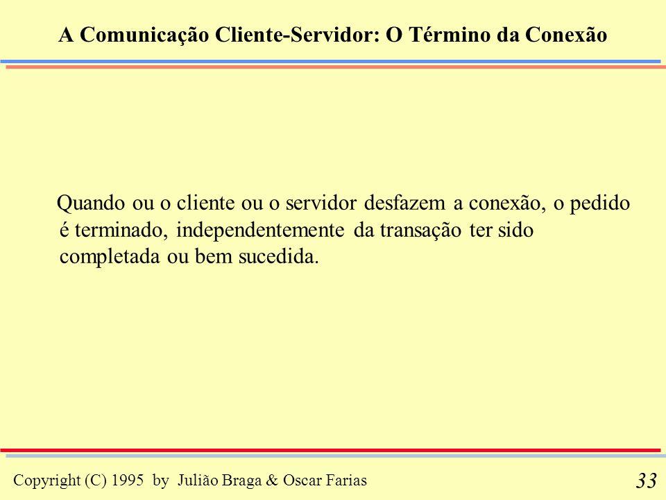 A Comunicação Cliente-Servidor: O Término da Conexão