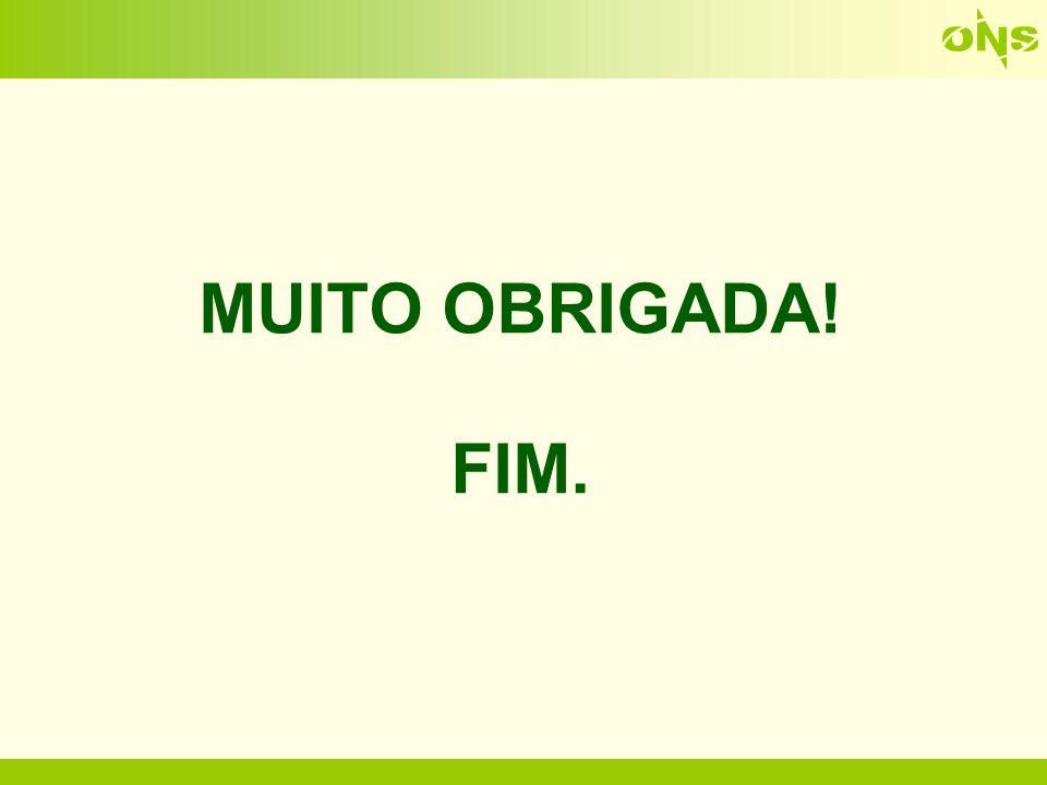MUITO OBRIGADA! FIM.