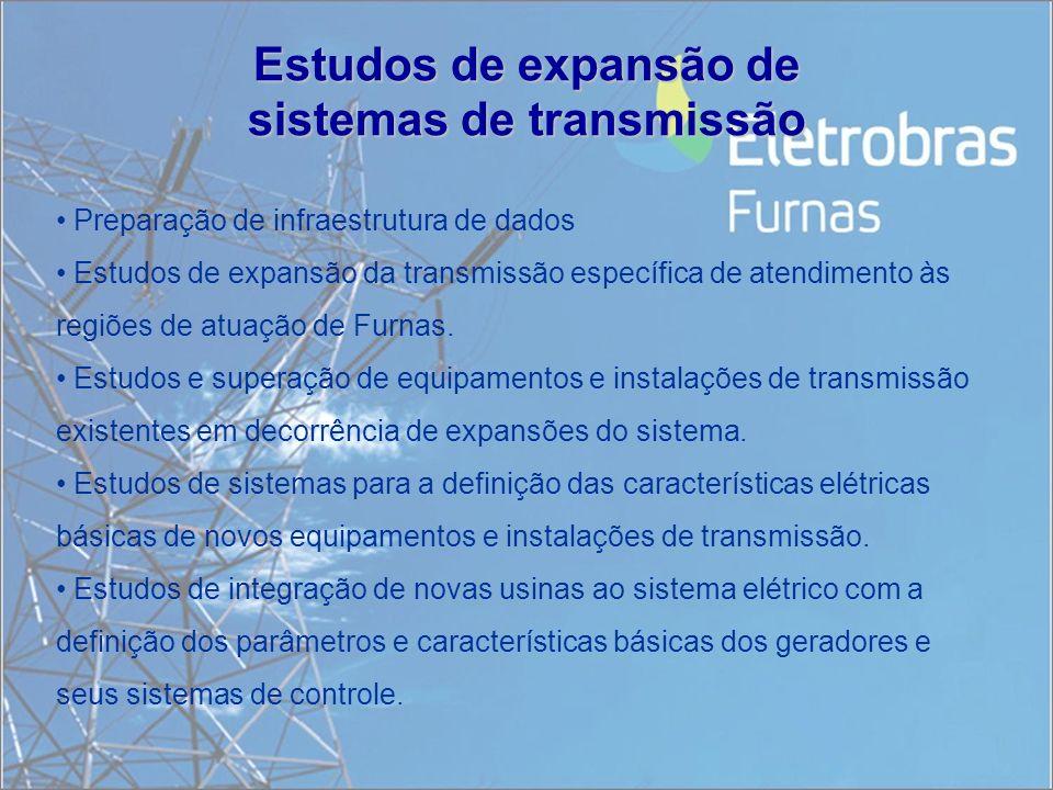 Estudos de expansão de sistemas de transmissão