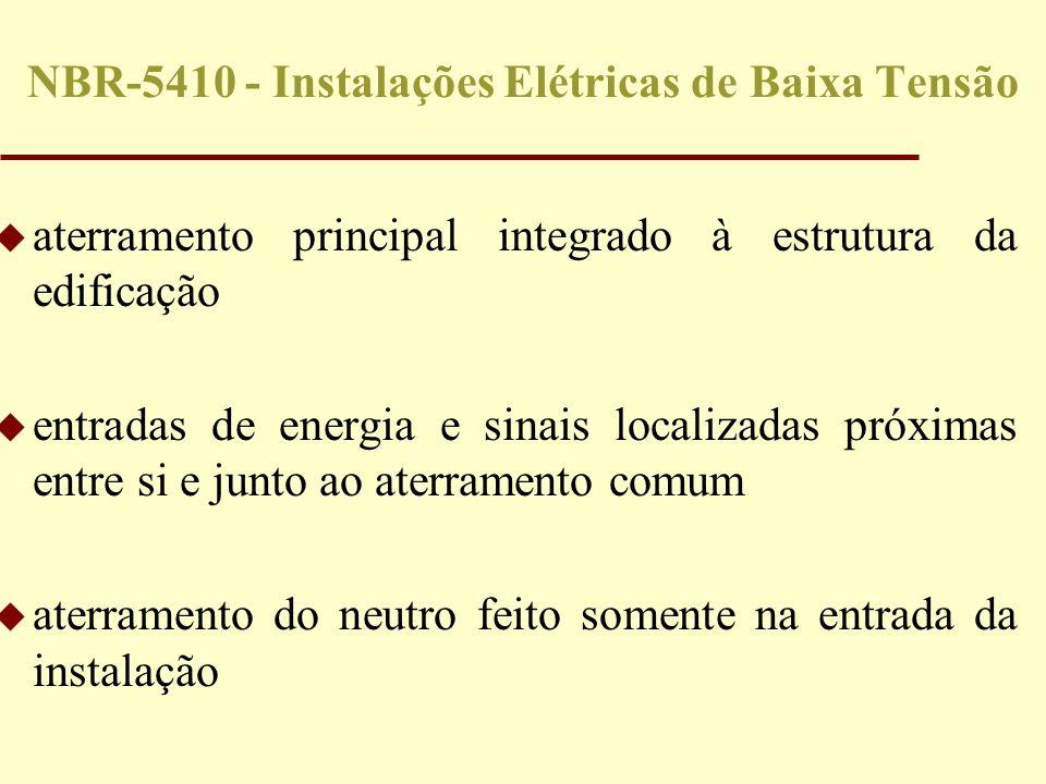 NBR-5410 - Instalações Elétricas de Baixa Tensão
