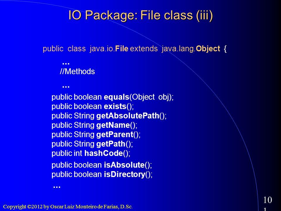 IO Package: File class (iii)