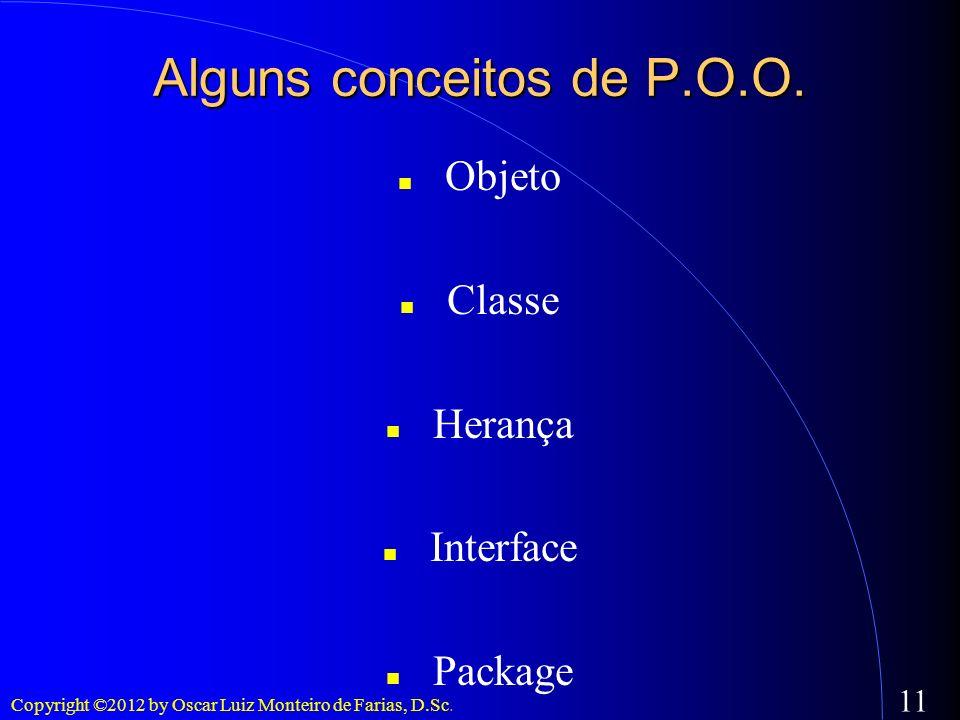 Alguns conceitos de P.O.O.