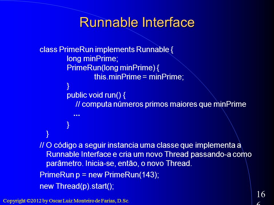 Runnable Interface
