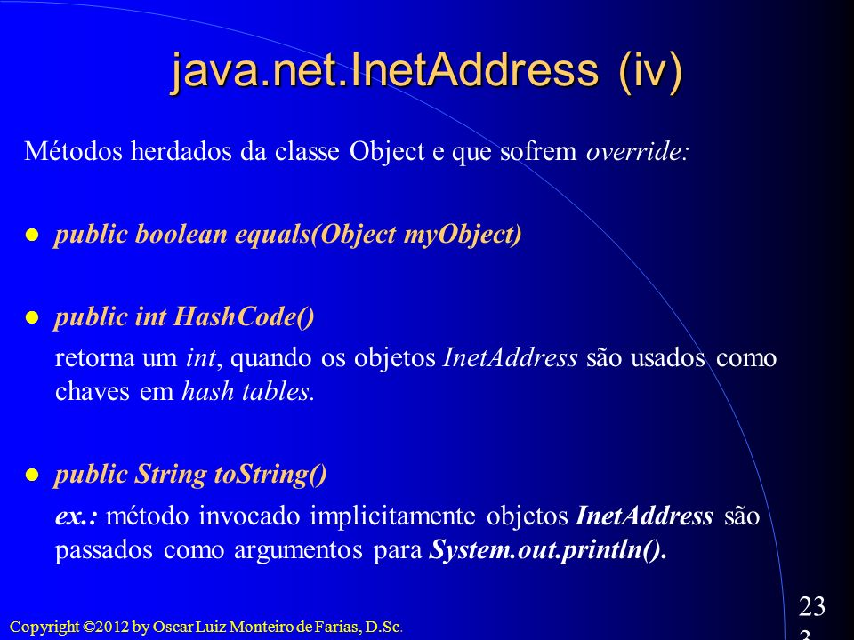 java.net.InetAddress (iv)‏