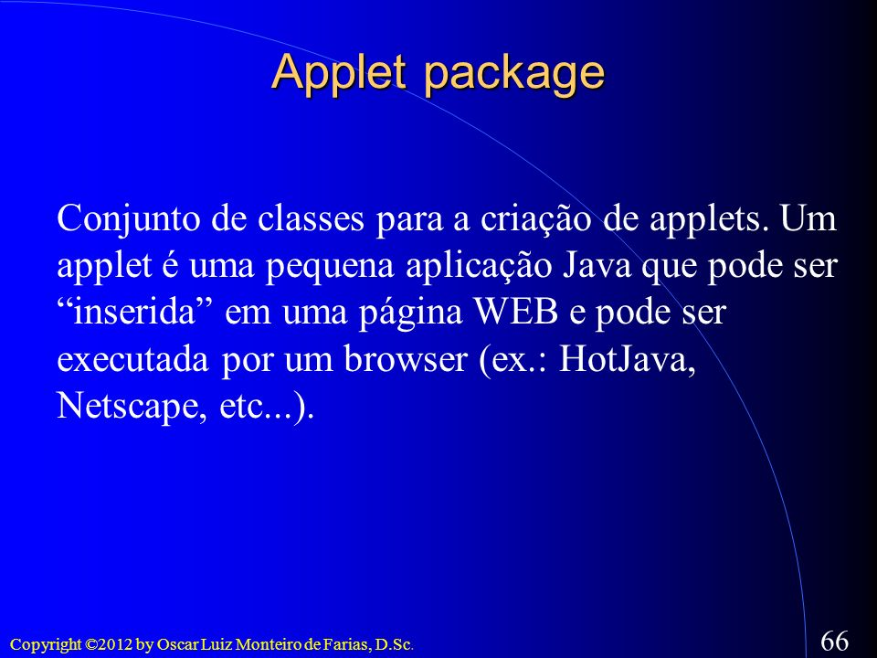 Applet package