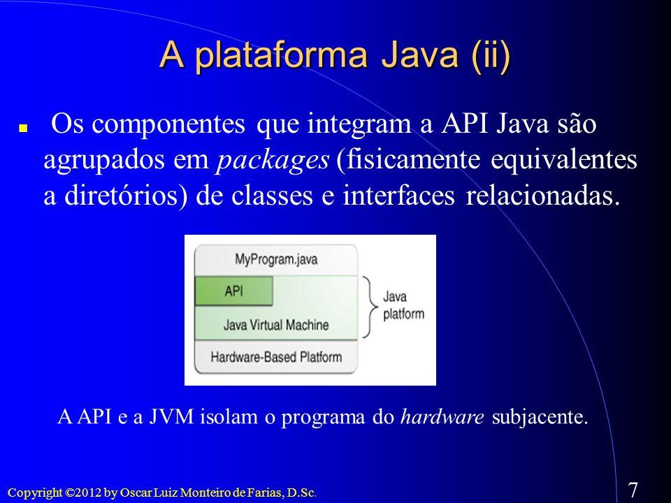 A plataforma Java (ii)