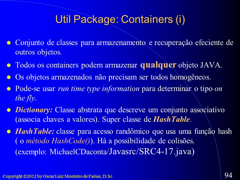 Util Package: Containers (i)‏
