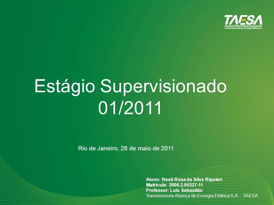 Estágio Supervisionado 01/2011