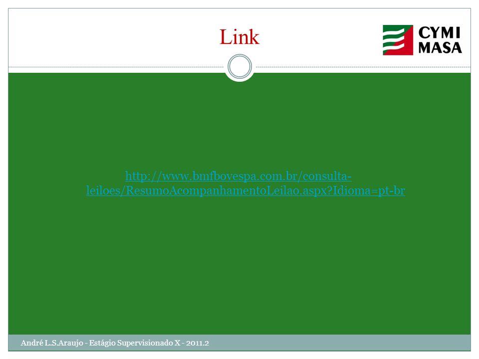 Link http://www.bmfbovespa.com.br/consulta-leiloes/ResumoAcompanhamentoLeilao.aspx Idioma=pt-br.