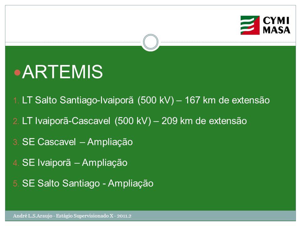 ARTEMIS LT Salto Santiago-Ivaiporã (500 kV) – 167 km de extensão