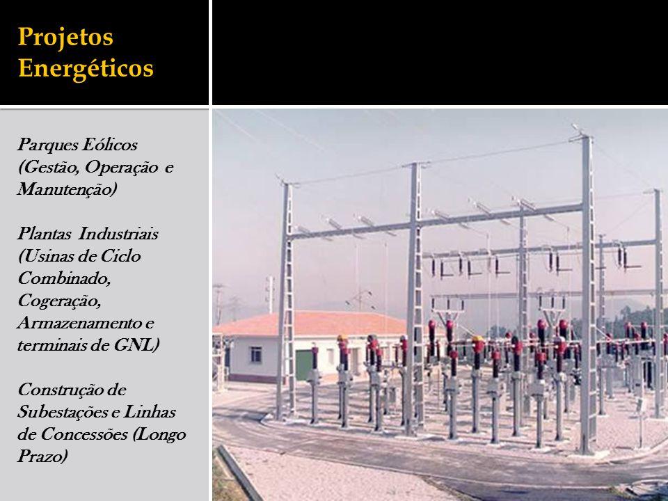 Projetos Energéticos Parques Eólicos (Gestão, Operação e Manutenção)
