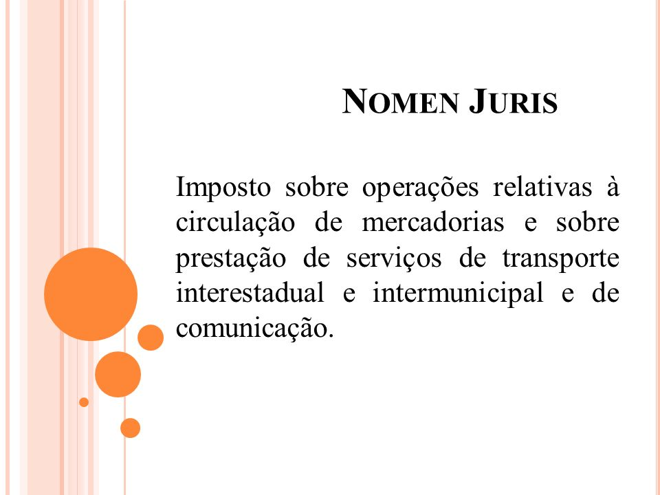 Nomen Juris