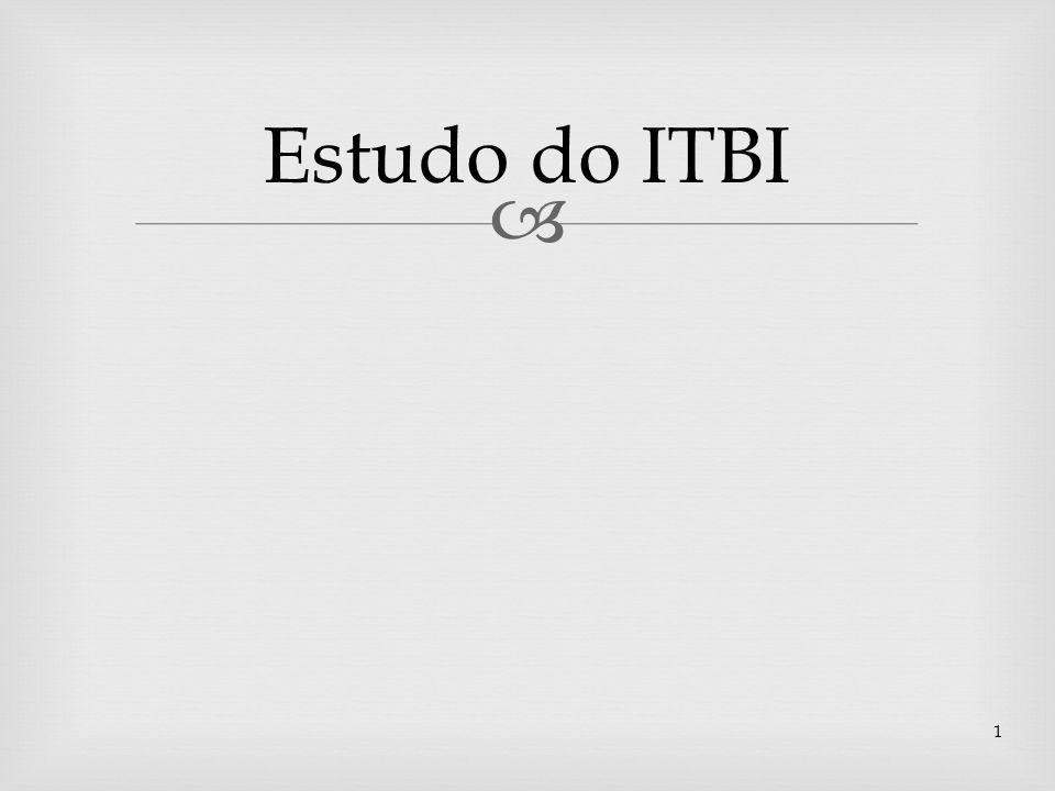 Estudo do ITBI