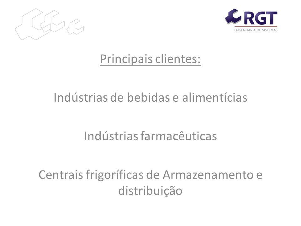 Indústrias de bebidas e alimentícias Indústrias farmacêuticas