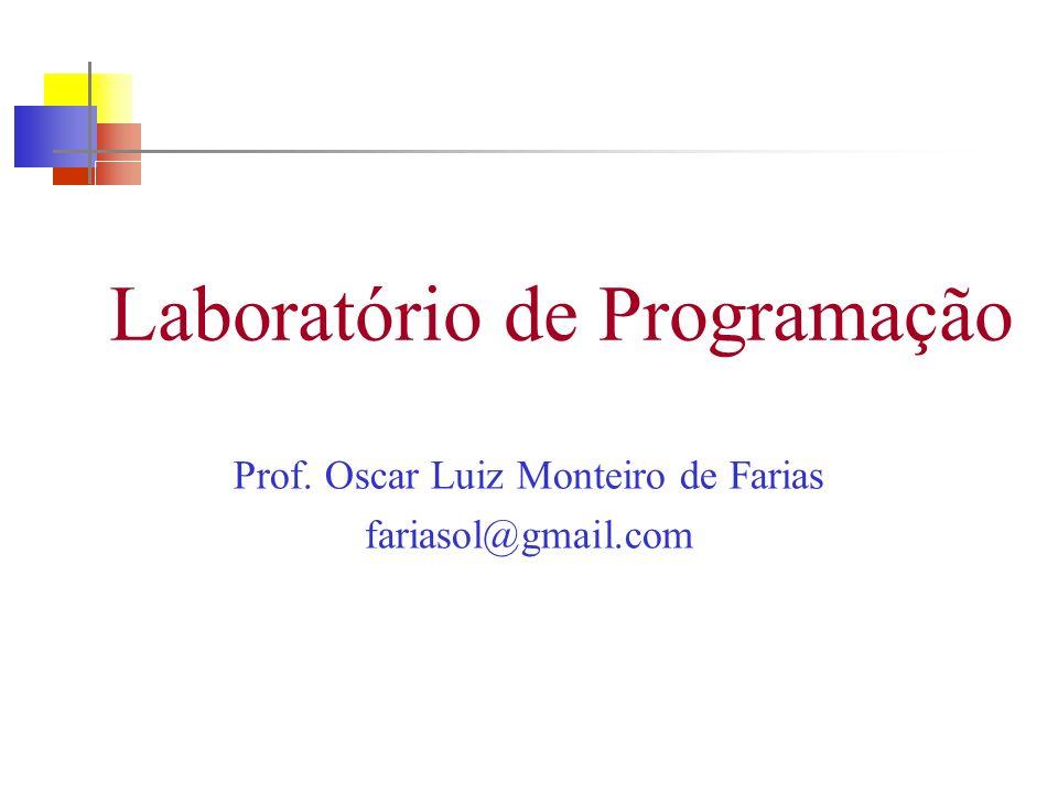 Laboratório de Programação
