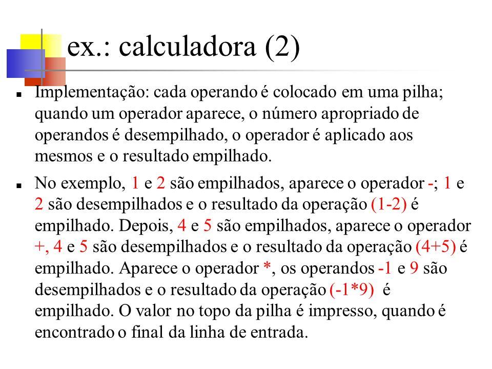 ex.: calculadora (2)