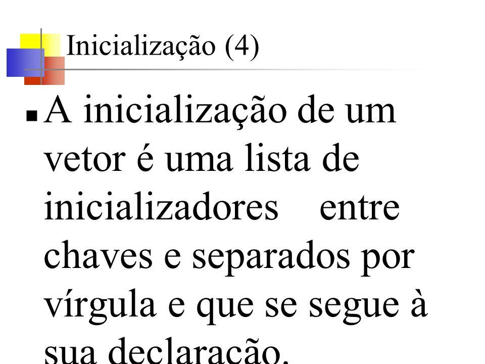 Inicialização (4)