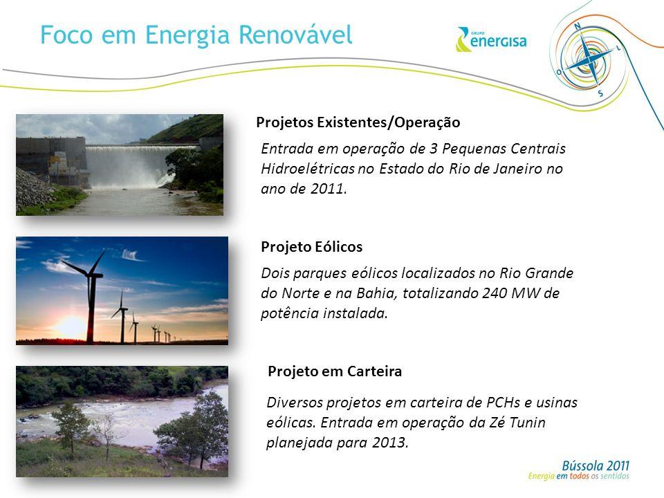 Foco em Energia Renovável